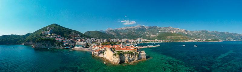 черногория-море-и-город
